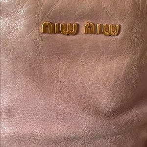 Miu Miu Bags - 💯 Authentic Miu Miu Vitello Lux Bow Satchel